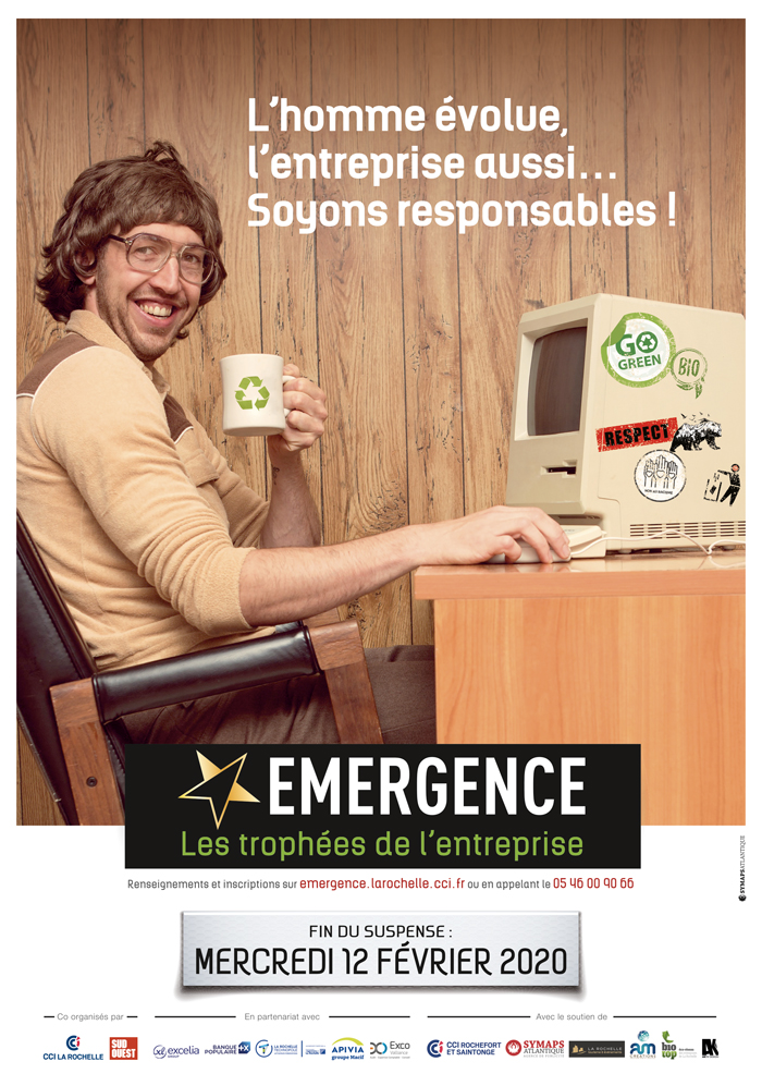 Affiche Emergence 2019 2020 entreprises responsables