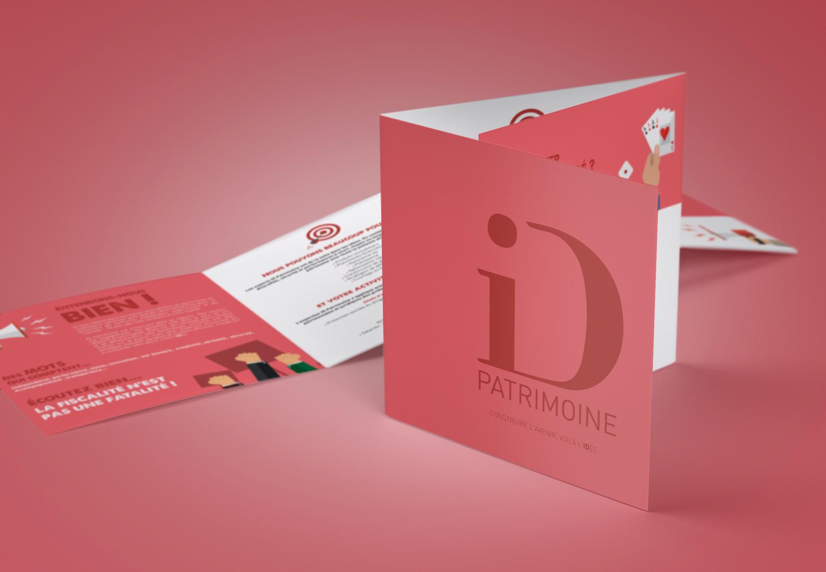 Visuel plaquette corporate iD Patrimoine iD Groupe