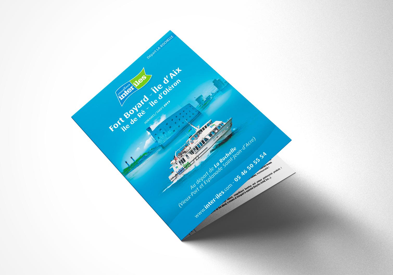 Couverture Brochure Croisières Inter-îles