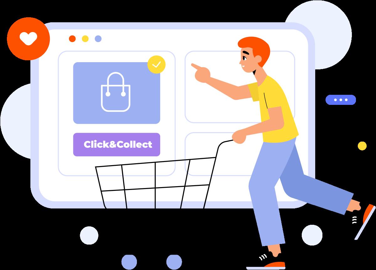 Service Click&Collect Symaps